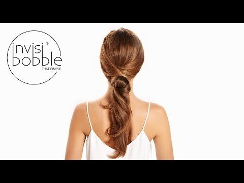 Invisibobble Tutorials Fur Jede Gelegenheit Pferdeschwanz Frisuren Tutorial Haartutorial Frisur Hochgesteckt