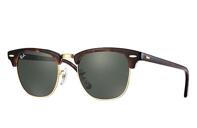 48effc007e Ray-Ban 0RB3016-CLUBMASTER CLASSIC Tortoise SUN