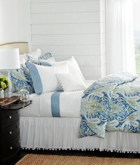 Country Curtains Bahamas Duvet Cover Country Curtains Cottage Style Bedrooms Bedroom Makeover
