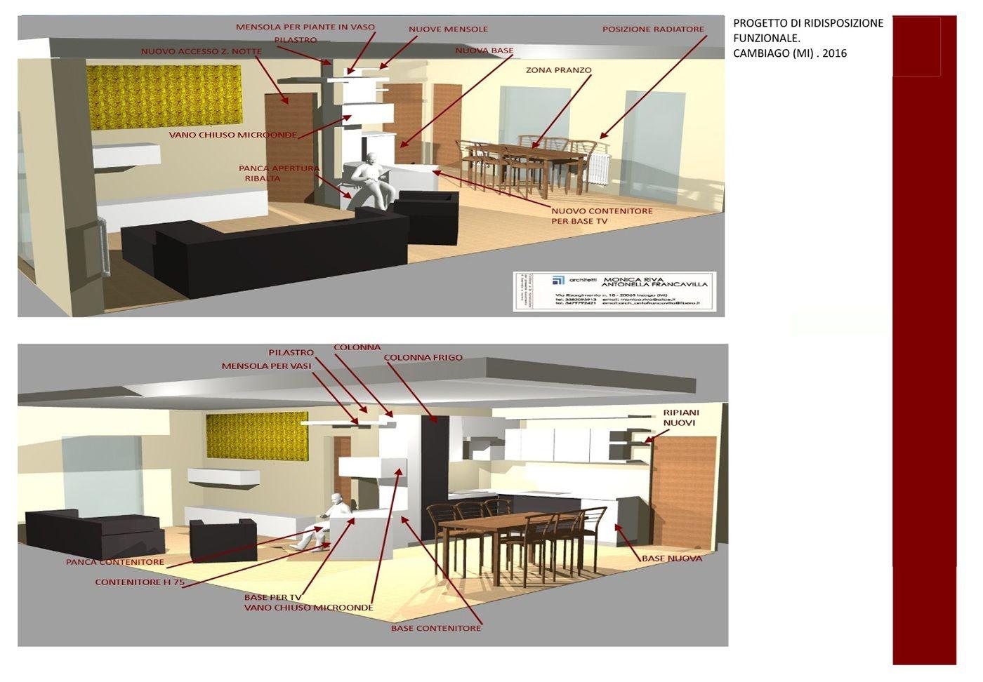 Vedi il mio progetto @Behance: \u201cProgetto ristrutturazione appartamento Cambiago\u201d https://www.behance.net/gallery/48402971/Progetto-ristrutturazione-appartamento-Cambiago
