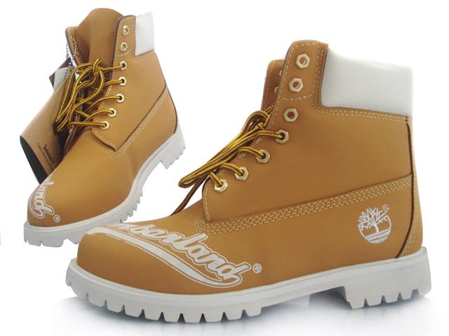 Boots For white Timberland And 6 Yellow Men Inch qjLA34R5