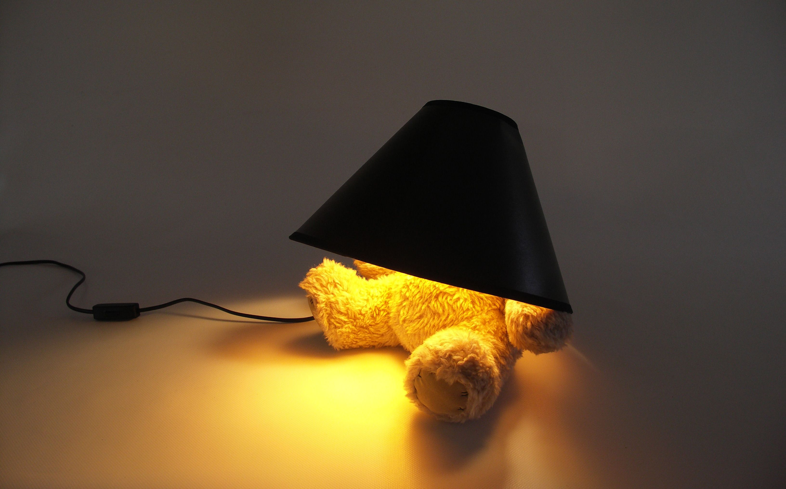 Teddy Bear Lamp Creative Lamps Lampshades Table Lamp