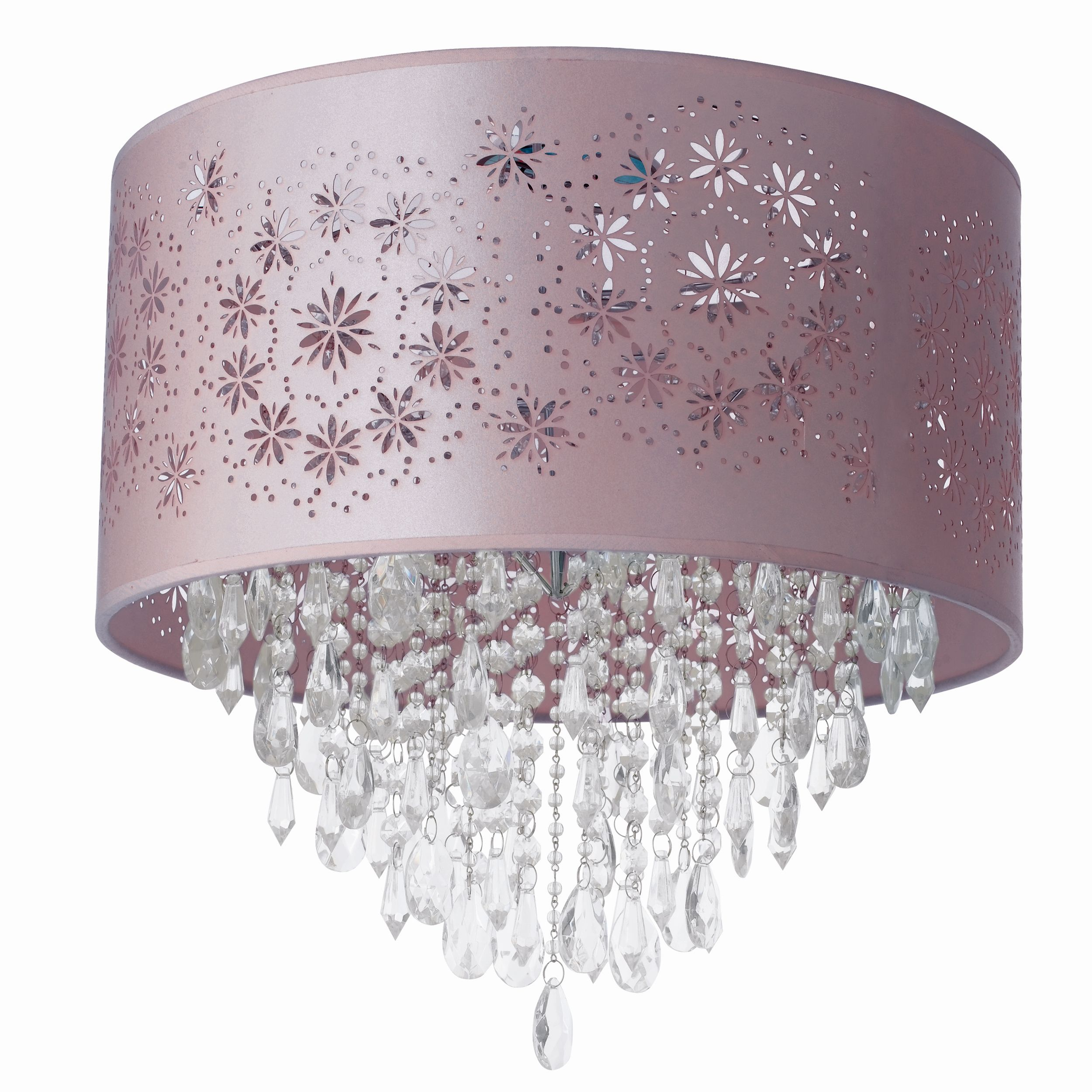 Lara Floral Beaded Pendant Light