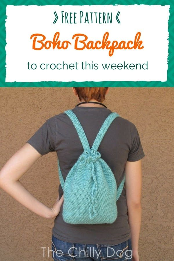 Crochet Pattern Boho Backpack Free Crochet Backpacks And Boho