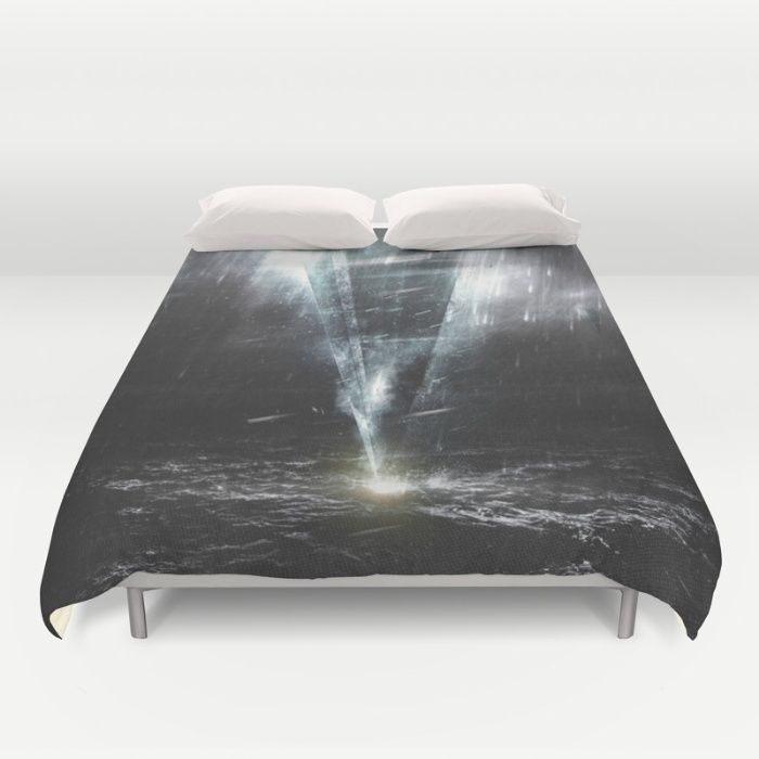 We come in peace Duvet Cover