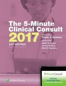 The 5-Minute Clinical Consult 2017 - 25th edition