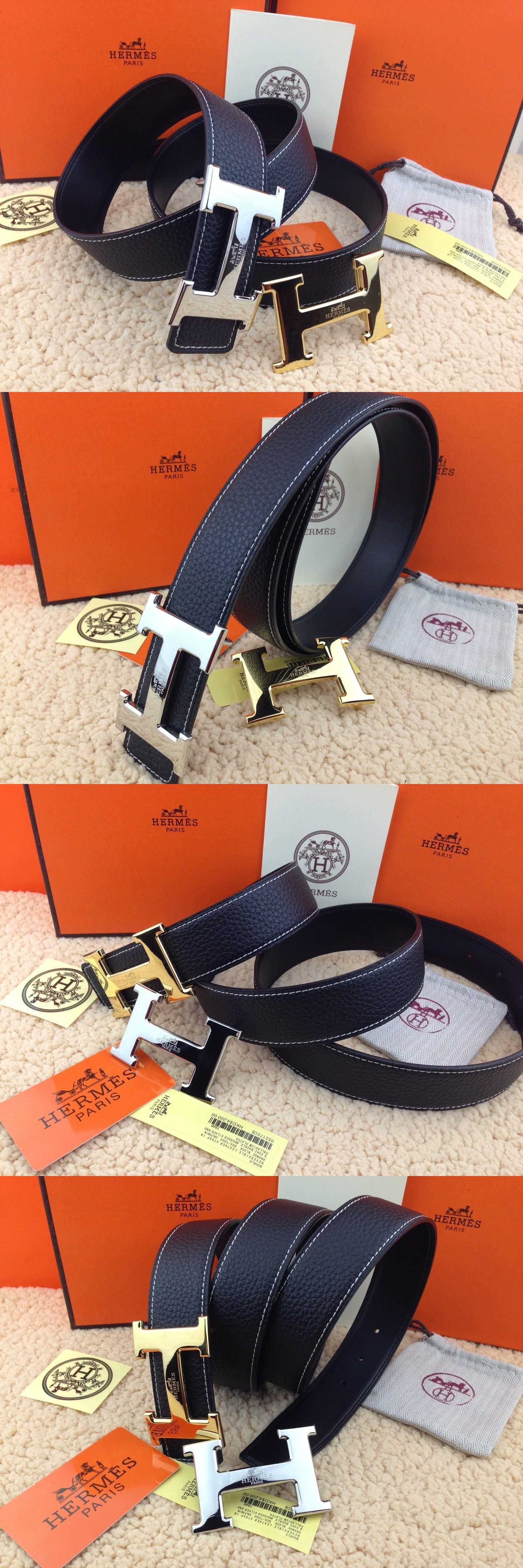 a6d16b21f ... promo code for belts 2993 hermes men s 38mm black belt 2h buckle gold  silver length
