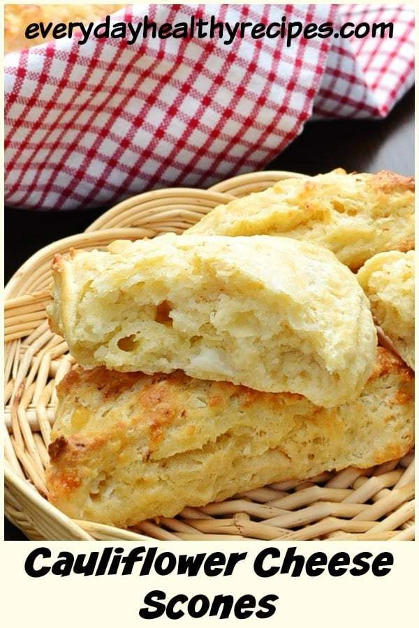 Healthy Cheese Scones With Cauliflower Rice These Savoury Healthy