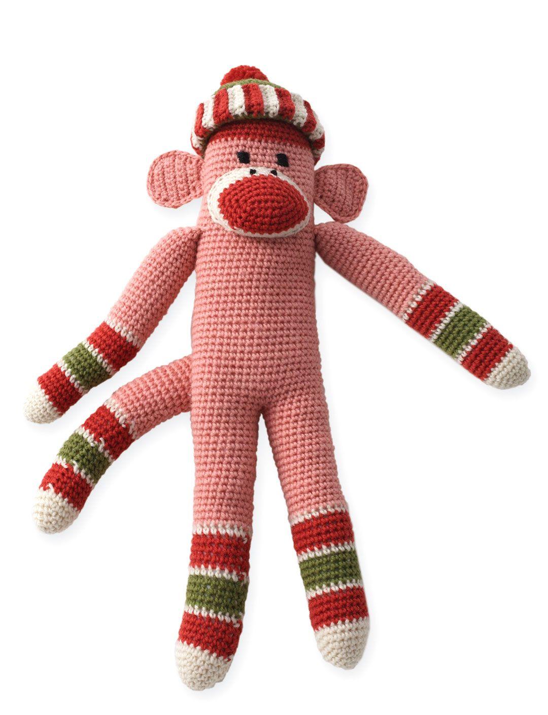 Sock Monkey - Free Crochet Pattern - (yarnspirations) | CROCHET ...