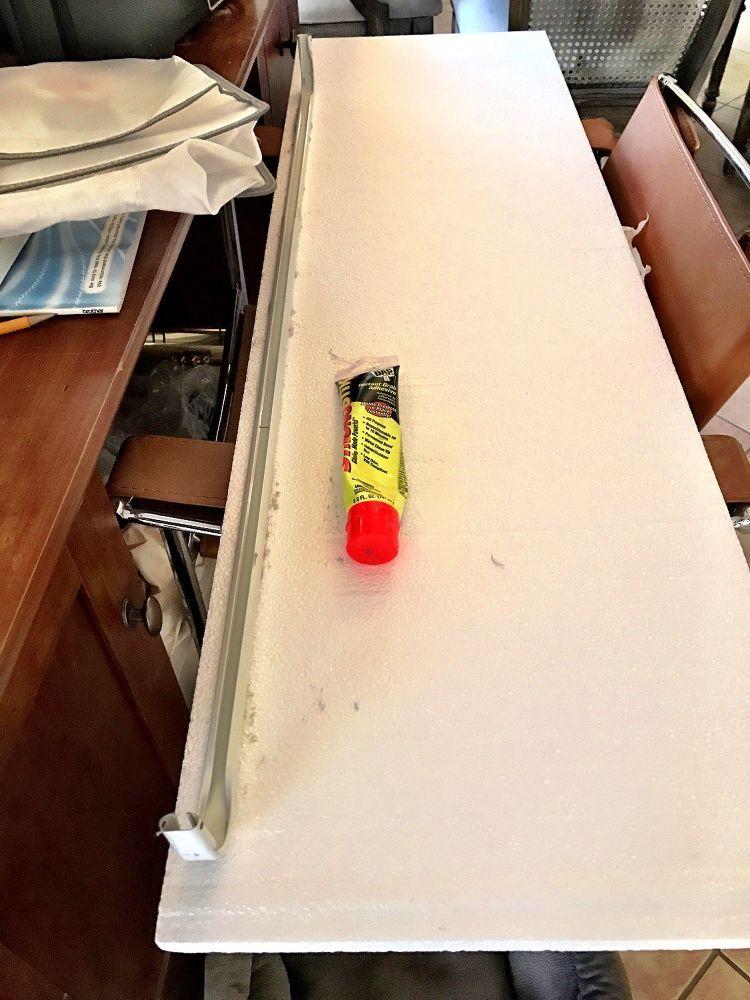 How Foam From Home Depot Can Make Your Windows Look Amazing Bathroom Budget Diy Diy Countertops Diy Bathroom