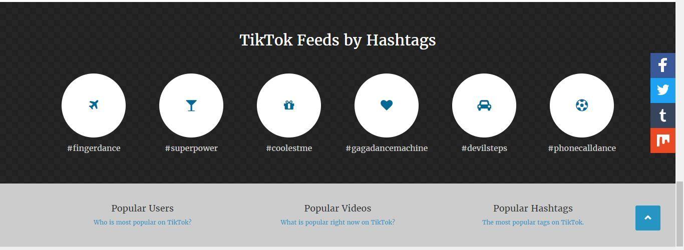 Tiktok Web Viewer Site Creative Video Popular Videos Viewers