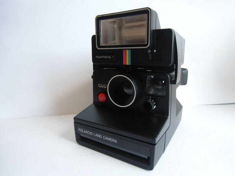 Polaroid Land Kamera 1000 Polatronic 1 Von Susduett Auf Dawanda Com Elektronik Polaroid Dawanda