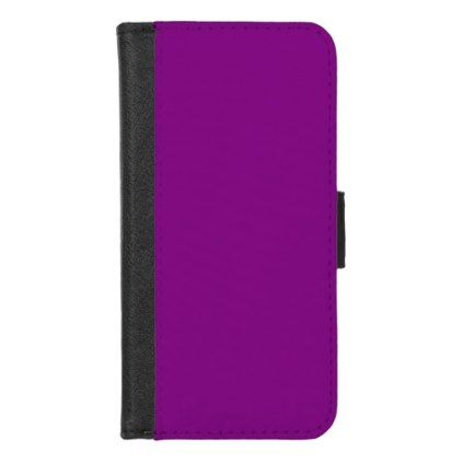 Purple IPhone 8 7 Wallet Case