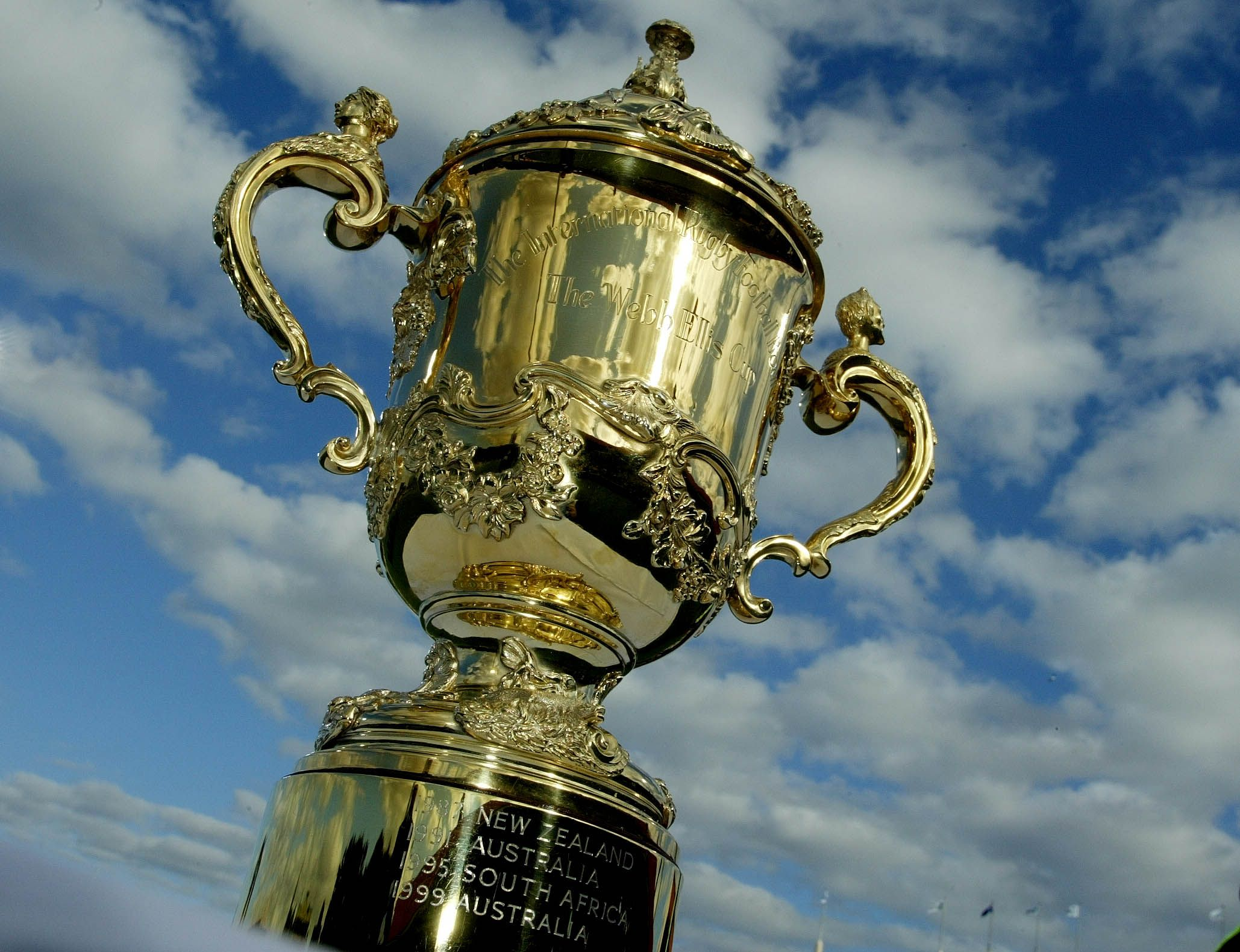 Webb Ellis Trophy Trophyfacts Rugby World Cup World Cup Cup