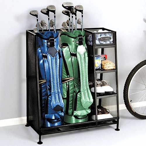 Discount Home Decor Catalogs: Golf Organizer Rack This Is Cool!