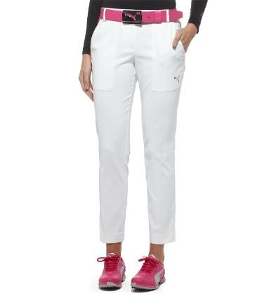 fe2f6b6fdd96 Who say s you can t wear white before Memorial Day  Puma Women s Golf Tech  Pant in White