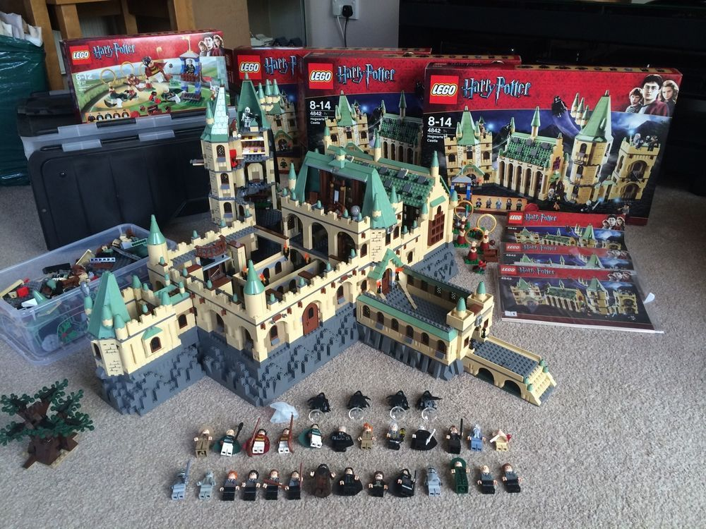 epic lego harry potter hogwarts castle lego und playmobile pinterest kinderzimmer junge. Black Bedroom Furniture Sets. Home Design Ideas