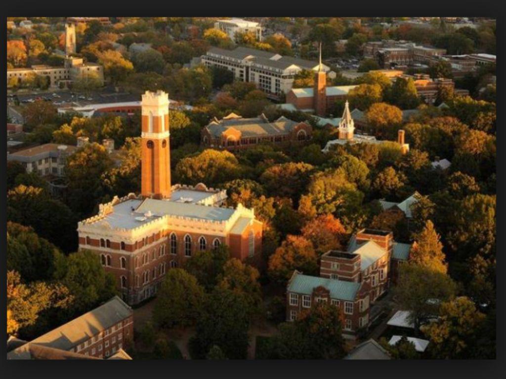 Birds eye view of Vanderbilt