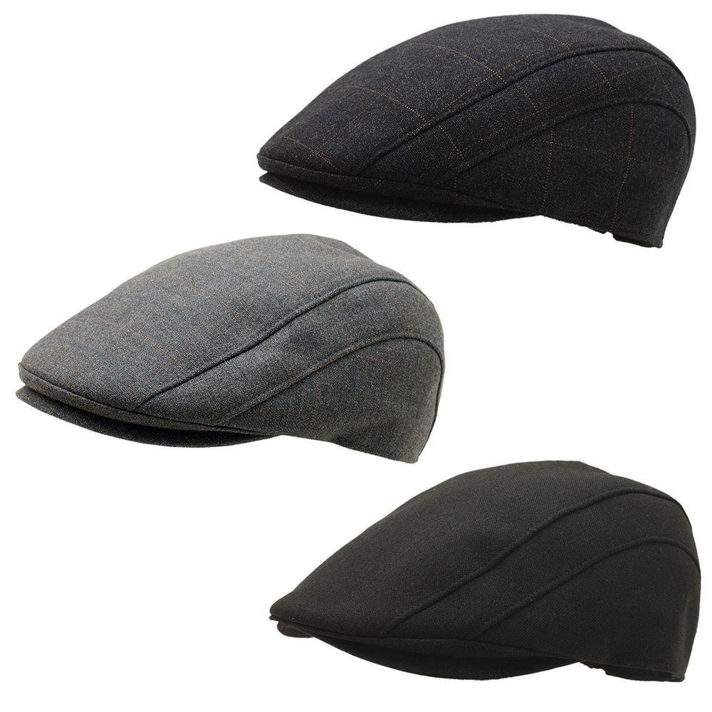 0a1f743dd Men Classy Formal Newsboy 507 Design Check Flat Cap Ivy Driver Hat ...