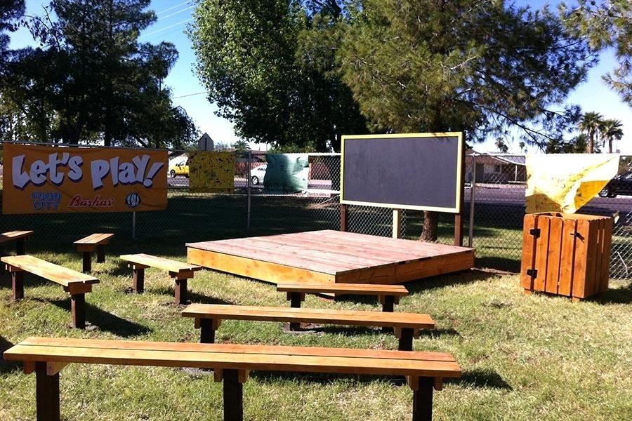 Magnificent Outdoor Classroom Benches Outdoor Classroom 1 Stage 1 Uwap Interior Chair Design Uwaporg