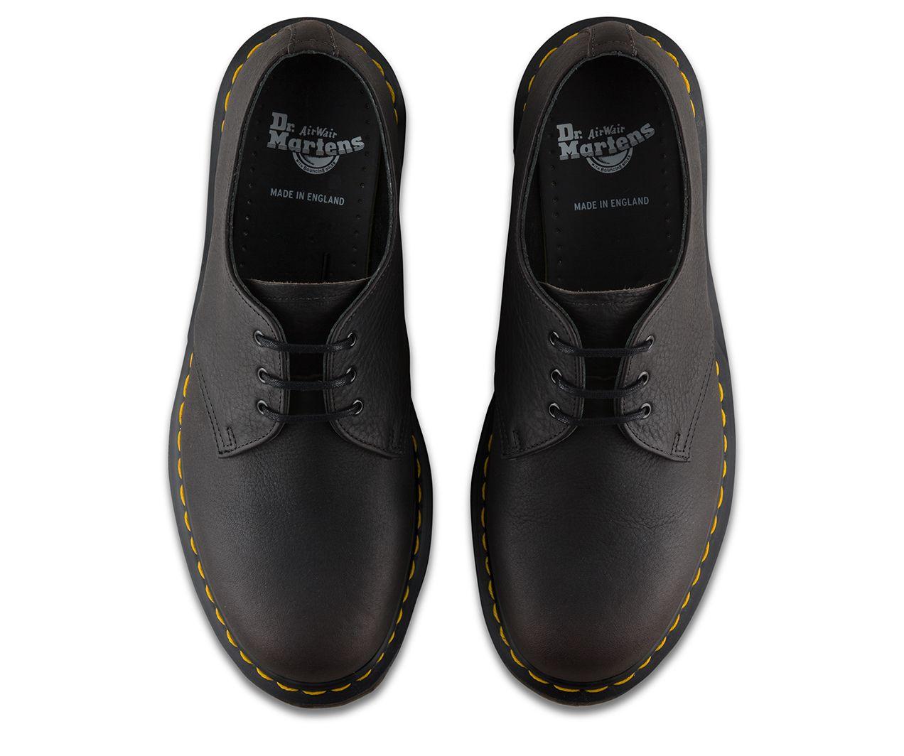 Dr Martens 1461 Virginia Dress Shoes Black   Country Attire UK