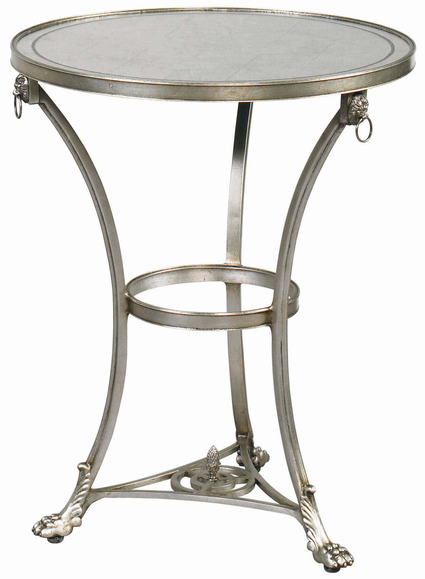 Wood Cafe Joie Table by Lillian August Mirrored side tables