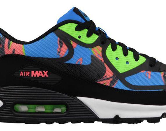 nike air max 90 premium tape – multi-color camo pants