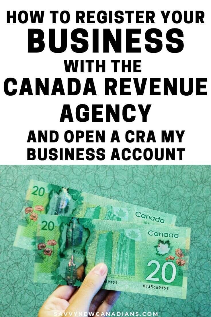 How To Register For A Free CRA My Business Account