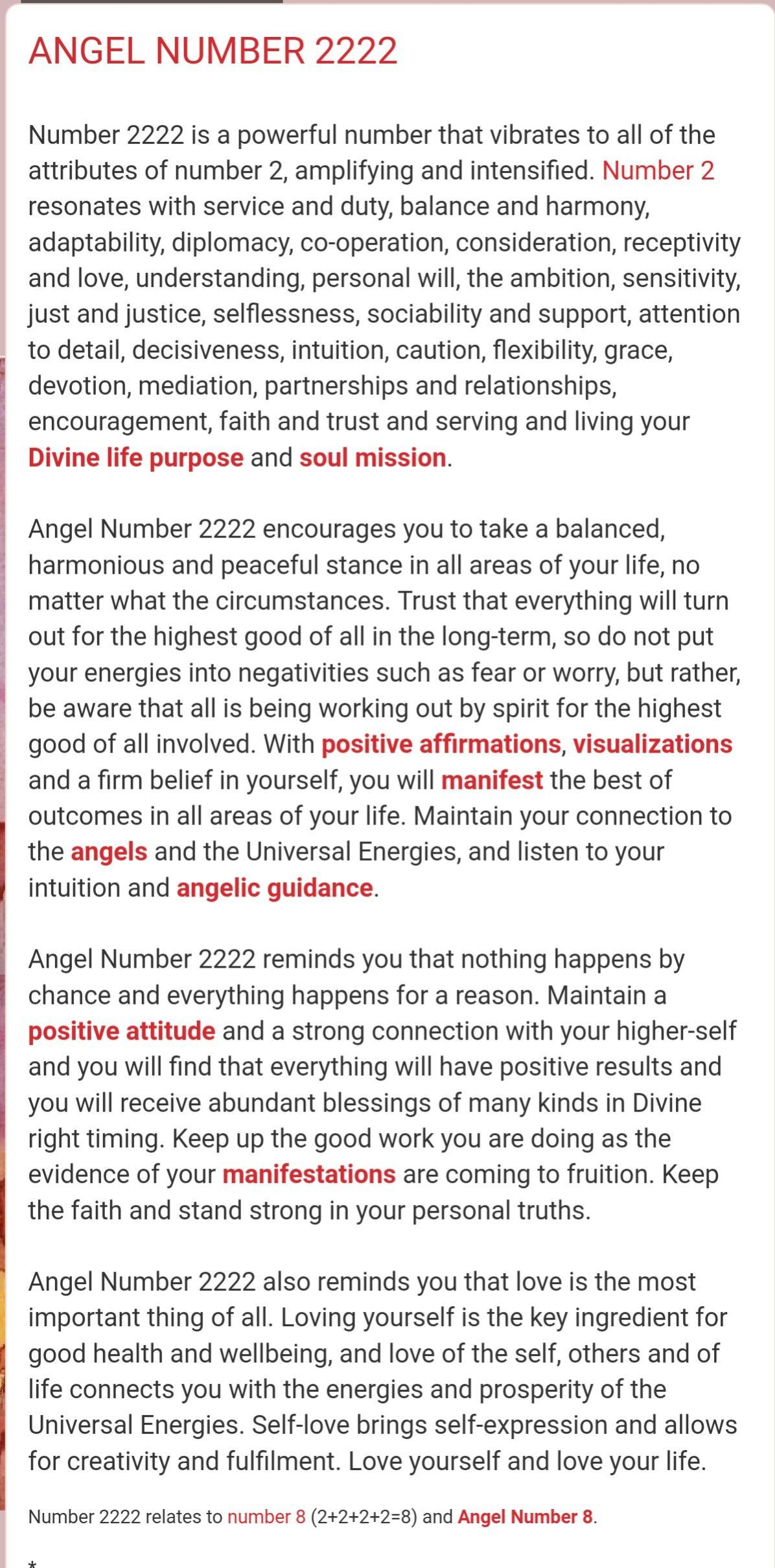 Angel number 2222 divine life purpose and soul mission  | Angel
