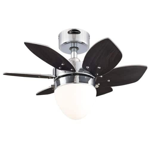 24 Corry 6 Blade Ceiling Fan With Light Kit Included Ceiling