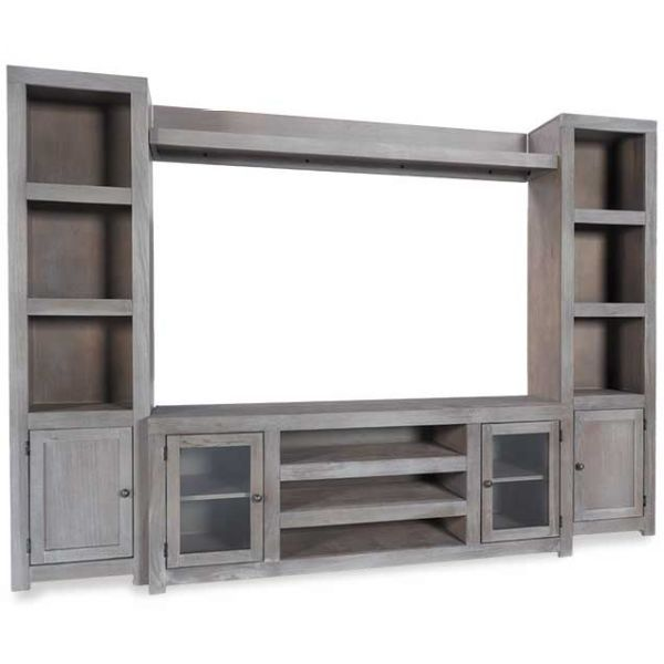 Carol Brechzin Home Tips For Home Theater Room Design Ideas: Wirebrush 4 Piece Wall Unit …