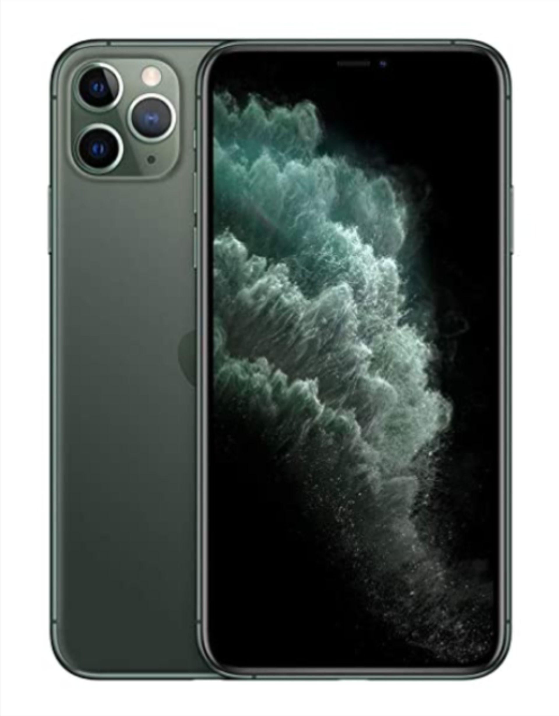 Apple iphone 11 pro max 64gb midnight green in 2020