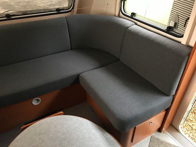 Wohnwagen LMC 490 P Favorit Sitzecke, neu bezogene