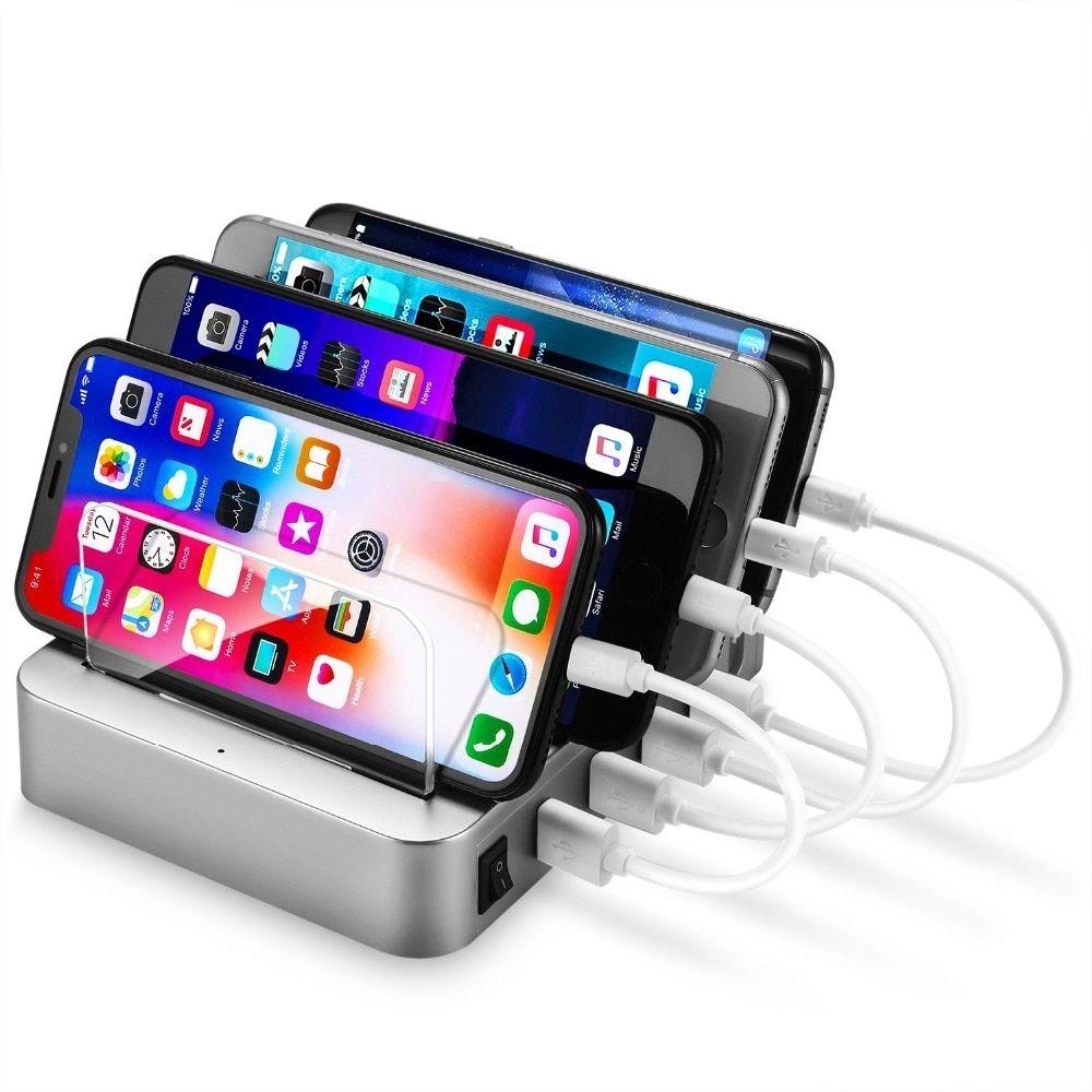 4 port usb universal multi device charging station usb