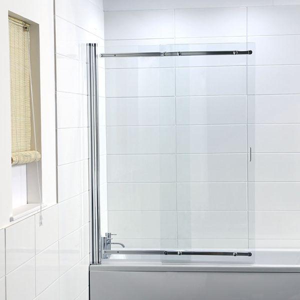 Coram Frameless Sliding Shower Screen Shower Screen Bath Shower Screens Shower Bath