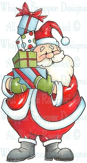 Santa S Gifts Fall Winter 2013 Rubber Stamps Shop Christmas Drawing Christmas Images Christmas Pictures