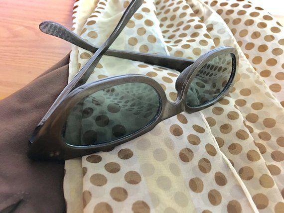 Vintage Celluloid Willson Cat Eye Sunglasses 1950s Cat Eye Sunglasses Vintage Sunglasses