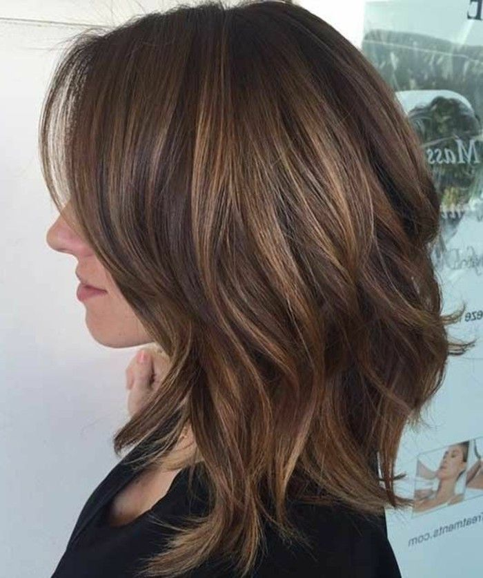 Coupe De Cheveux Femme Mi Long 2017 Degrade