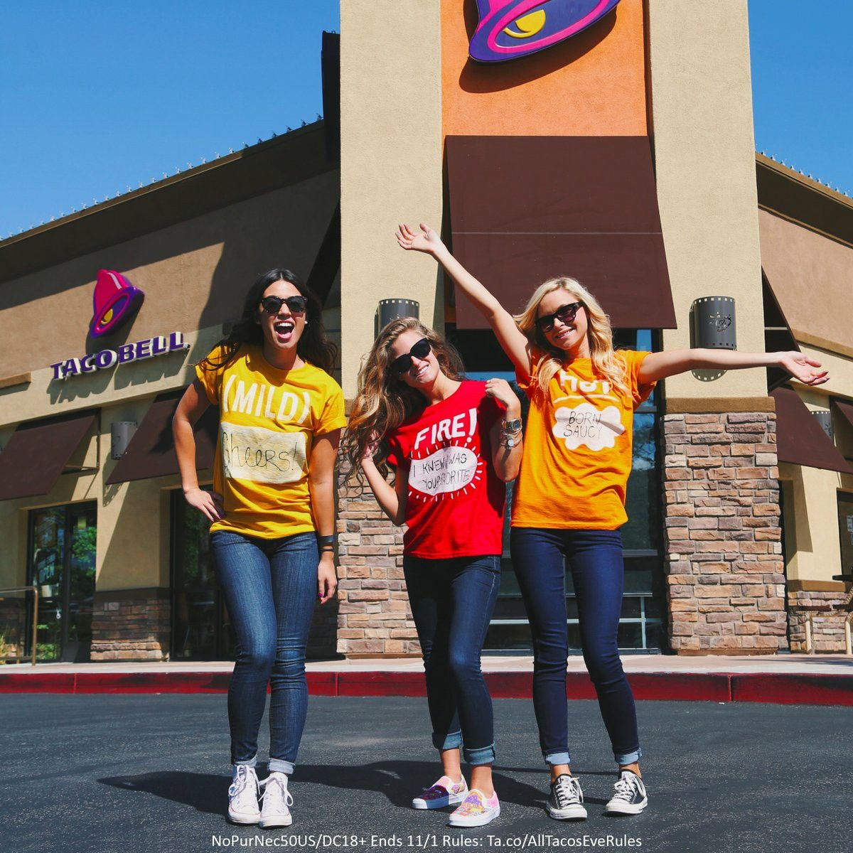 Taco Bell Sauce Packet T Shirts Taco Bell Sauce Taco