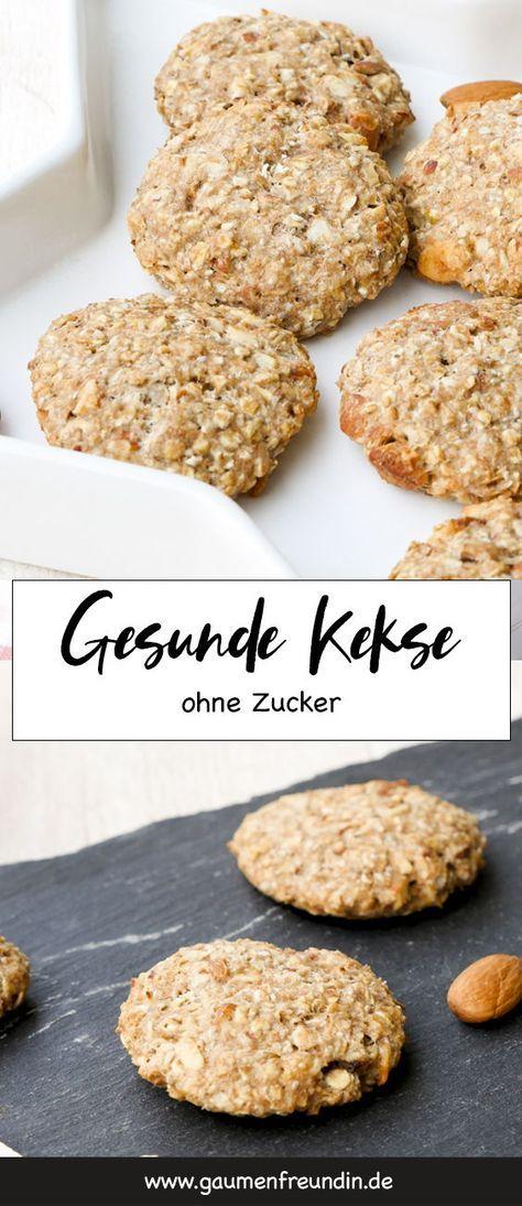 Gesunde Kekse mit Mandeln und Ahornsirup - Genuss ohne Reue