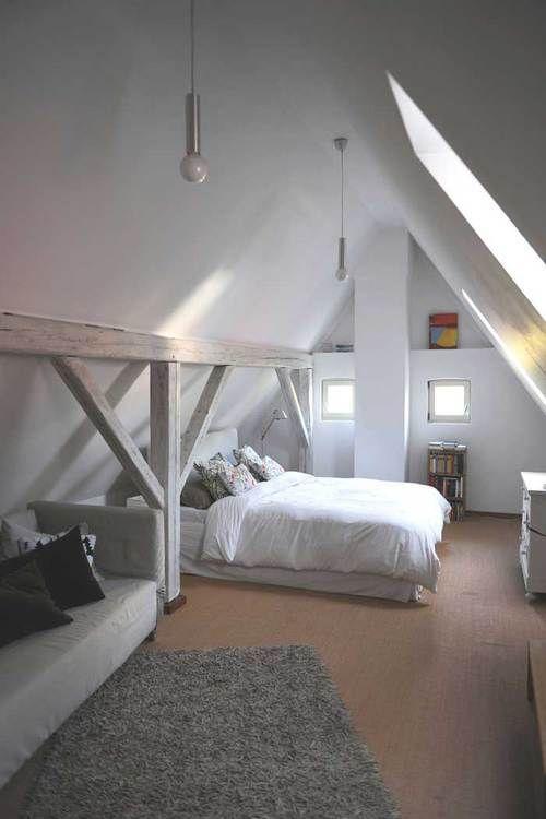 schlafzimmer Dachboden Zimmer Einrichten Speyeder.net ...