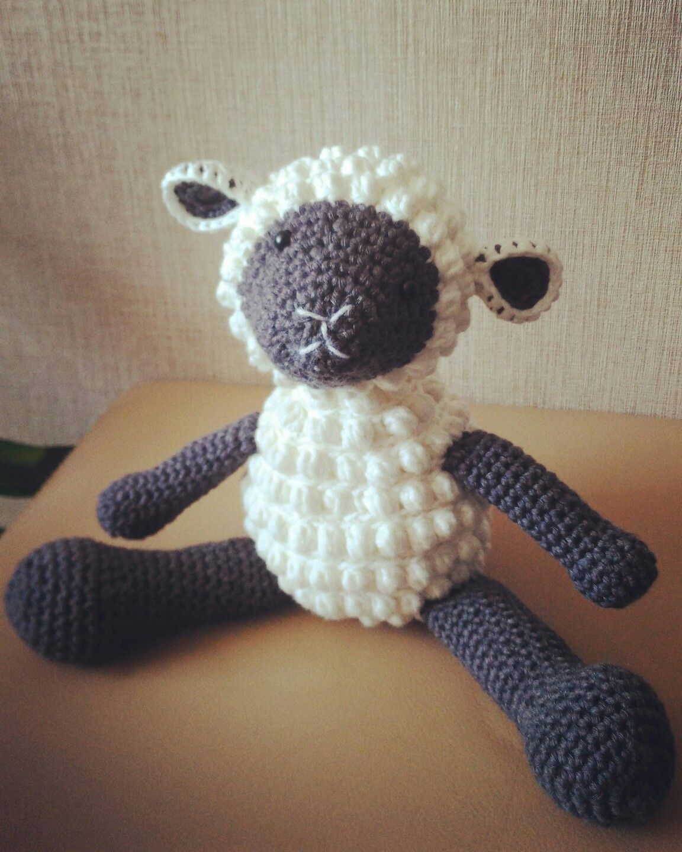 Cuddle sheep amigurumi