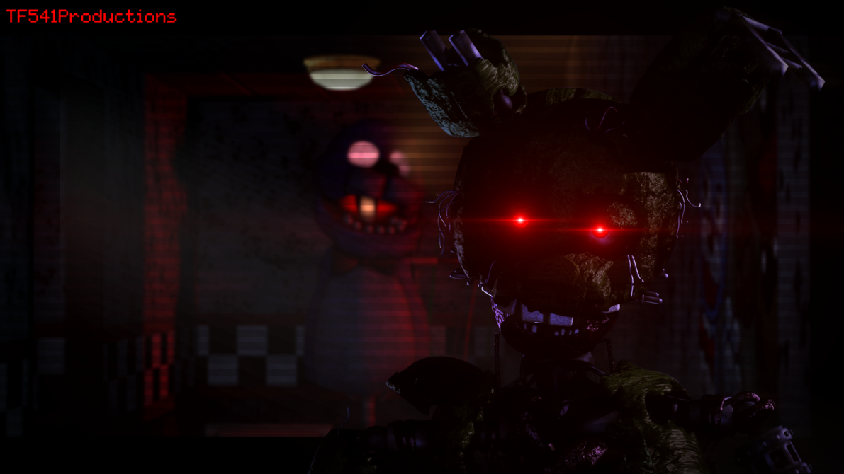 Ignited Springtrap Wallpaper By Tf541productions Wallpaper Fnaf Ignite
