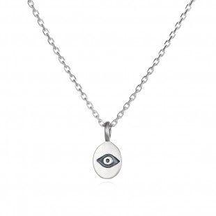 Eternal Vigilance Silver Necklace