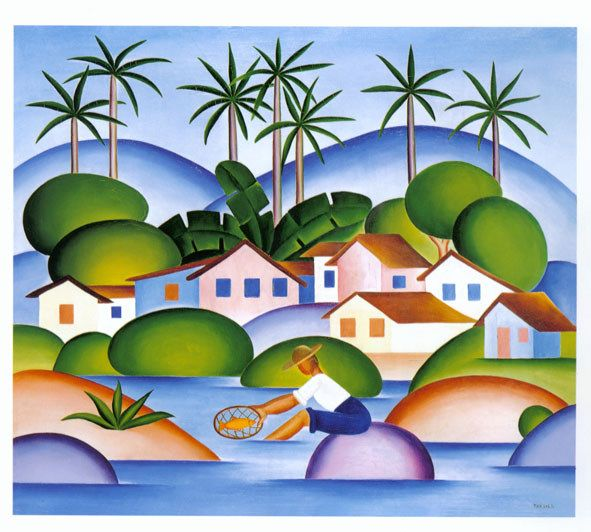 O Pescador The Fisherman 1925 I M Fascinated By The Colors Of