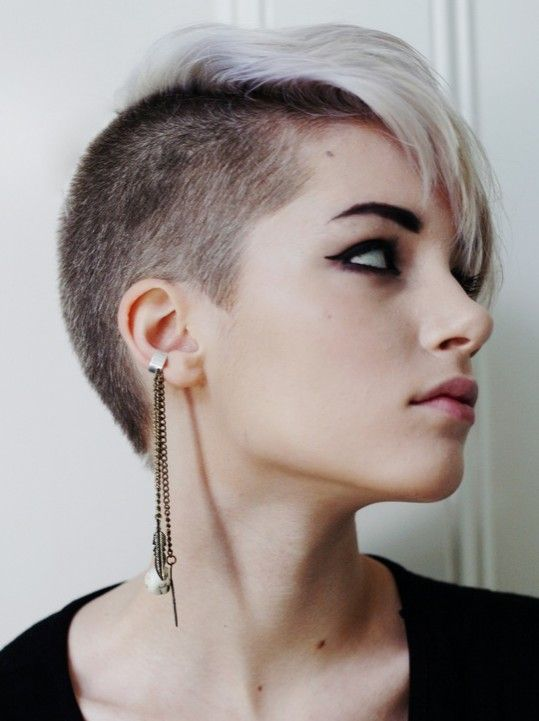 Pixie Haircuts: Asymmetry Short Hair-wish I had the courage to try something like this.
