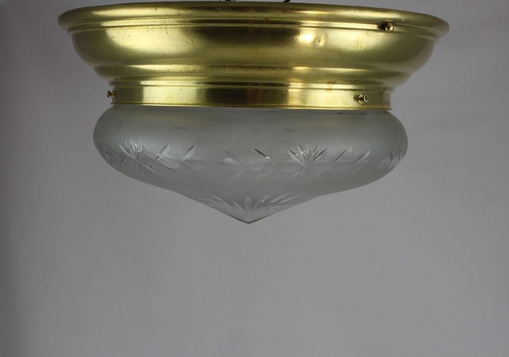 Deckenlampe Jugendstil Plafoniere : Große traumhafte jugendstil lampe deckenlampe plafoniere