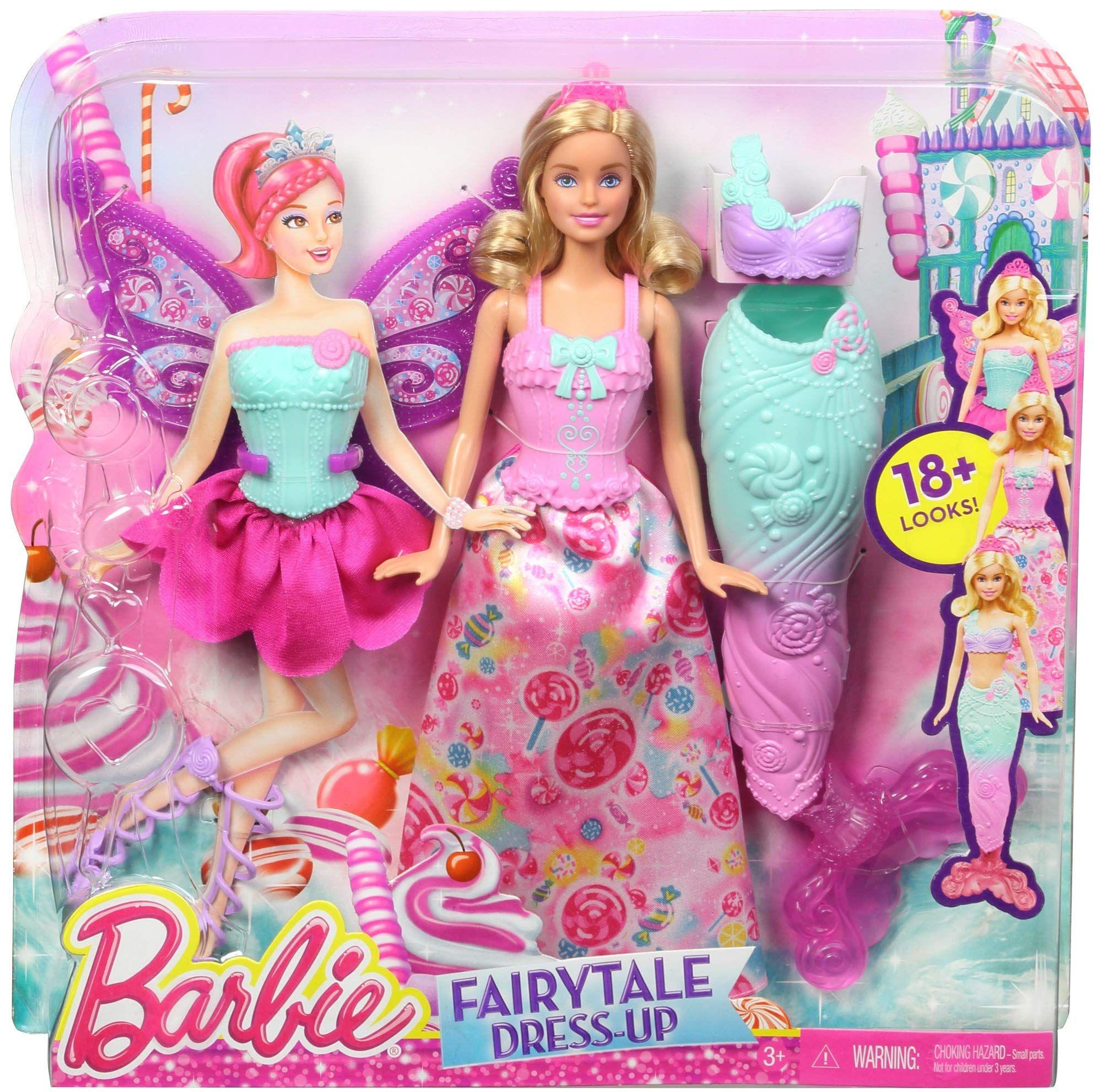 Amazon Es Barbie Dreamtopia Muñeca Fiesta De Disfraces Princesa Sirena Y Hada Regalo Para Niñas Y Niños 3 Mattel Barbie Barbie Rapunzel Jugetes Para Niñas