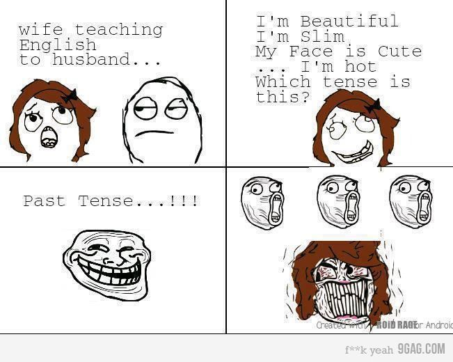 Troller Husband Trolls Like A Boss Funny Images Derp Comics Funny Pictures