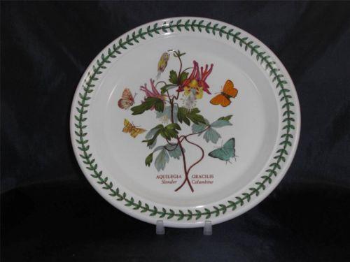 Vintage Portmeirion Botanicgarden Saladplate Slendercolumbine Madeinengland P112 | eBay